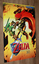 The Legend of Zelda Ocarina of Time / Mario Kart 7 Poster 80x54cm