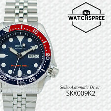 Seiko Men's Automatic Diver Watch SKX009K2 AU FAST & FREE