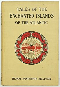 ATLANTIC OCEAN ISLANDS King Arthur MERLIN Muslim FOUNTAIN OF YOUTH Atlantis MYTH