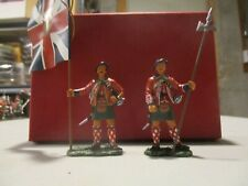 Frontline Figures 1/30th scale Black Watch Highlander w/king's colors & NCO
