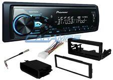 PIONEER BLUETOOTH CAR STEREO RADIO AUX/USB INPT & SMARTPHONE INTG W/ INSTALL KIT