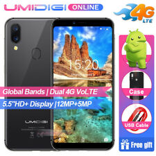 MTK6739 4G Lte 5.5''Smartphone Umidigi A3 16GB Cellulare TOUCH ID Face ID 3-Cam