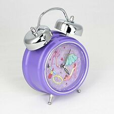 PERSONALISED Kids Alarm Clock - SINGS YOUR CHILD'S NAME! (Purple)