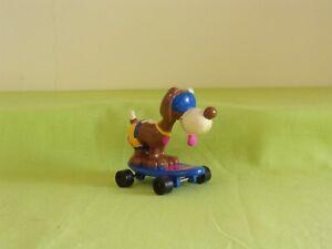 Hardee's Smurfs Smurfette Skateboard Blue Smurf Dog  1990
