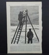 HARPER'S WEEKLY Single Page S3#047 Dec 1876 The British Arctic Expedition
