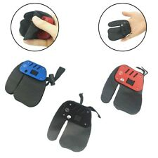 New listing Archery Finger Guard Tab Protector Gear Glove Leather Aluminum Pad Bow ' YU