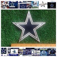 "Dallas Cowboys NFL Football Sew/Iron-on BIG 7"" Official Star Emblem Logo Patch"
