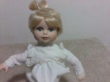 Bambola in porcellana da collezione ANGELO ANGIOLETTO da appoggio, Germany, 30cm