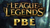 League of legends Pbe Accounts Pbe Server Unverifed Best Offer