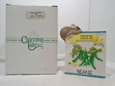 Charming Tails Mackensey Growing Beans Figurine 89604