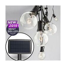 Sunlitec Solar String Lights Waterproof LED Indoor/Outdoor Hanging Lights wit...