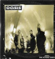 1 newspaper promo cd OASIS 2 tracks for cd player 5 for pc the sunday times