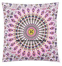 """Cotton Peacock Mandala Style Cushion Cover Throw Pillow Case Sofa Bed Decor 16"""""""