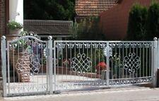 Gartentor Hoftor Tor Metall Schmiedeeisen Monaco-GFT500/120 Verzinkt PREMIUM