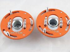 Camber Plates E36 3D Drift BMW top mounts Front x2 orange