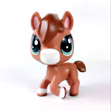 Littlest pet shop Glimmer Horse PONY Animal Hasbro LPS Figure rare Toy Doll