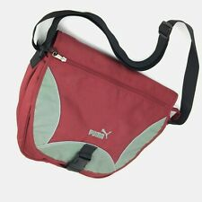 Puma Cross Body Shoulder Messenger Bag Dark Red