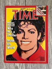 TIME Magazine Michael Jackson Thriller Andy Warhol (March 19, 1984)