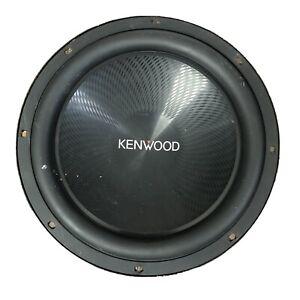 "Kenwood KFC-W3013PS 12"" Car Subwoofer 400W RMS/ 1200W Max 4 Ohm (Used)"