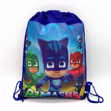 PJ MASKS DRAWSTRING LIBRARY SCHOOL SWIMMING KINDER BOOK BAG BIRTHDAY LOLLY LOOT