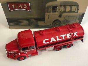 IXO ALTAYA Camion d'Autrefois Bernard TD180 Citerne Caltex 1/43 Miniature