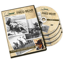 Complete Fred Bear DVD Collection 4 disc traditional recurve archery bow hunting