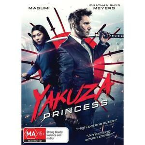 Yakuza Princess (Dvd,2021) *NEW* Region 4