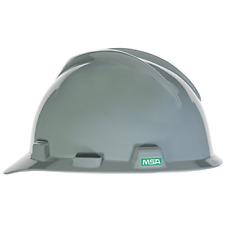 Msa 475364 V Gard With Fas Trac Iii Suspension Cap Style Hard Hat Navy Gray