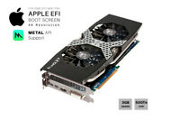 HIS HD 7970 OC 3GB GPU For Apple Mac Pro w/EFI, Boot screen, METAL/Mojave, 4K