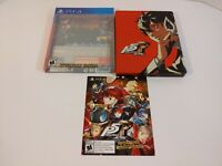 Persona 5 Royal Steelbook Launch Edition Game PlayStation 4 PS4 With Theme