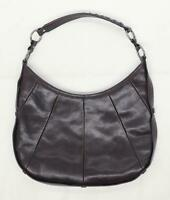 Enzo Brown Leather Womens Bag