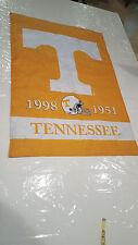 "Tennessee Volunteers Championship Years 1998 1951 Flag 42"" x 29"" RARE HTF"
