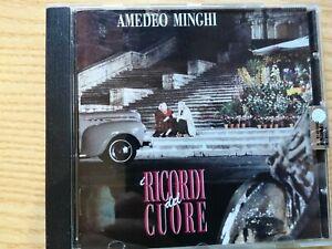 CD  AMEDEO MINGHI - I ricordi del cuore