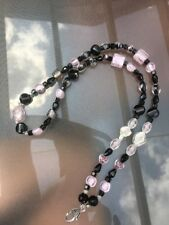 Crystal Beaded Lanyard For Work Or Cruises
