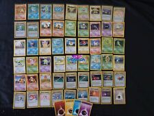 Pokemon Set base Lot With Charizard Lotto Card Carte Wizard of the Coast