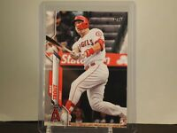 Mike Trout 2020 Topps Series 1 Base Card 1 Los Angeles Angels