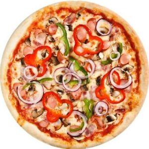 Flannel Tortilla Pizza Blanket 200Gsm Round Shape Donut Travel Winter Blanket