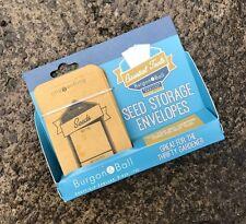 Burgon & Ball Seed Storage Envelopes - Pack of 12 - Gardening Gift