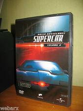 SUPERCAR STAGIONE 1 DVD 2 NUOVO SIGILLATO DAVID HASSELHOFF