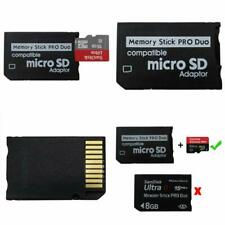 Psp Memory Stick Adapter, Funturbo Micro Sd To Memory Stick Pro Duo Magicgate Ca