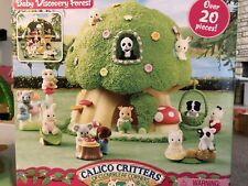 Calico Critters Baby Discovery Forest Set - Complete And In Great Condition