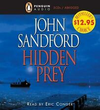Hidden Prey by John Sandford (2005, CD, Abridged)