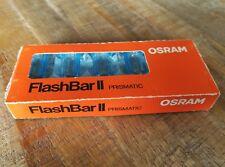 Osram FlashBar II Aufsteck Blitz für Polaroid SX-70 Sofortbildkamera, NEU & OVP