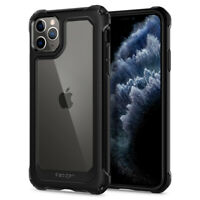 iPhone 11, 11 Pro, 11 Pro Max Case | Spigen® [Gauntlet] Protective Clear Cover