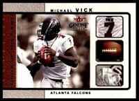 2003 FLEER GENUINE INSIDER TOOLS OF THE GAME MICHAEL VICK ATLANTA FALCONS #10 OF