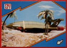 Thunderbirds PRO SET - Card #092 - Thunderbird 2 Roll-Out - Pro Set Inc 1992