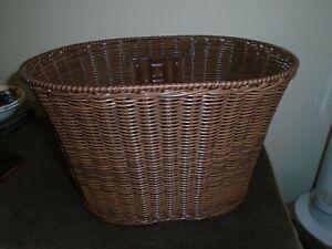 Rattan Bicycle Basket