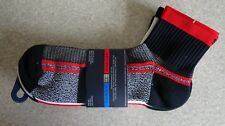 TOMMY HILFIGER ~ SOCKS ~ 3 PACK ~ PERFORMANCE ~ ONE SIZE 10-13 ~ RED ~BNWT
