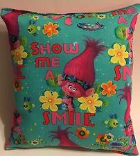 Trolls Pillow Dreamworks .New Trolls Movie Pillow Smile Pillow Made in USA