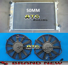 Aluminum Alloy Radiator for Ford BA BF Falcon V8 XR8 XR6 Turbo AT/MT + Fans